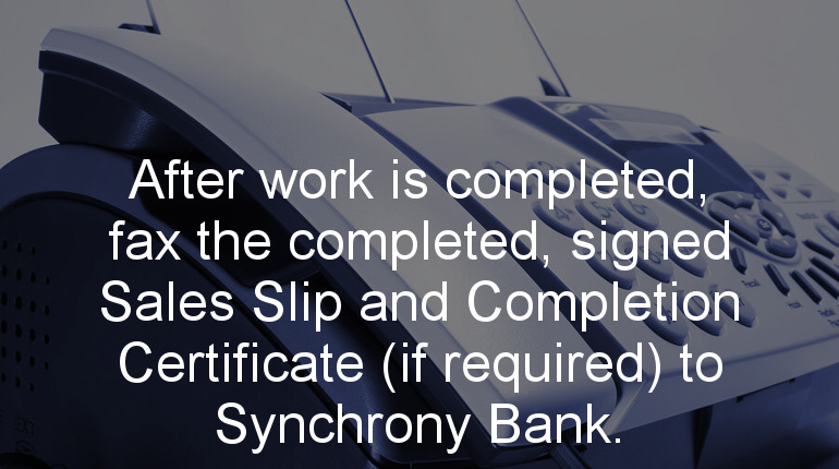 How Synchrony Financing Works